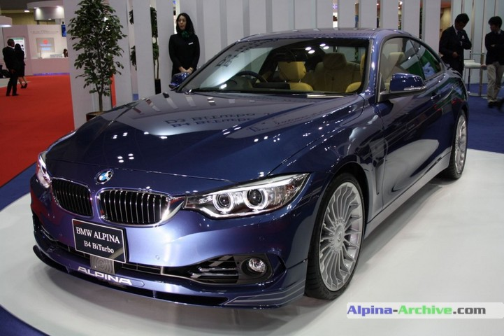 Alpina Archive Car Profile Bmw Alpina B4 Biturbo Coupe 001